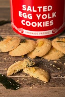 Salted Egg Yolk Cookies 05