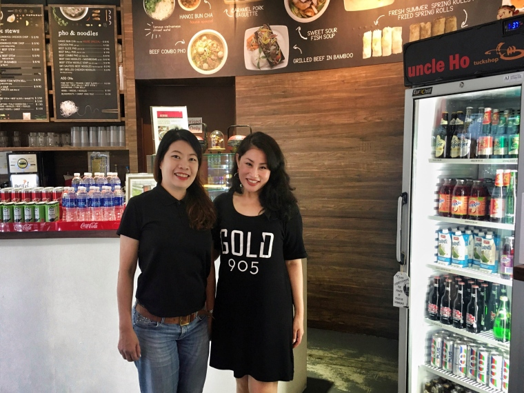WITH OWNER JANET TAN